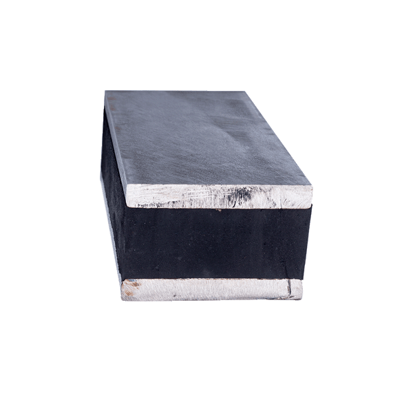 Rubber base for contact block
